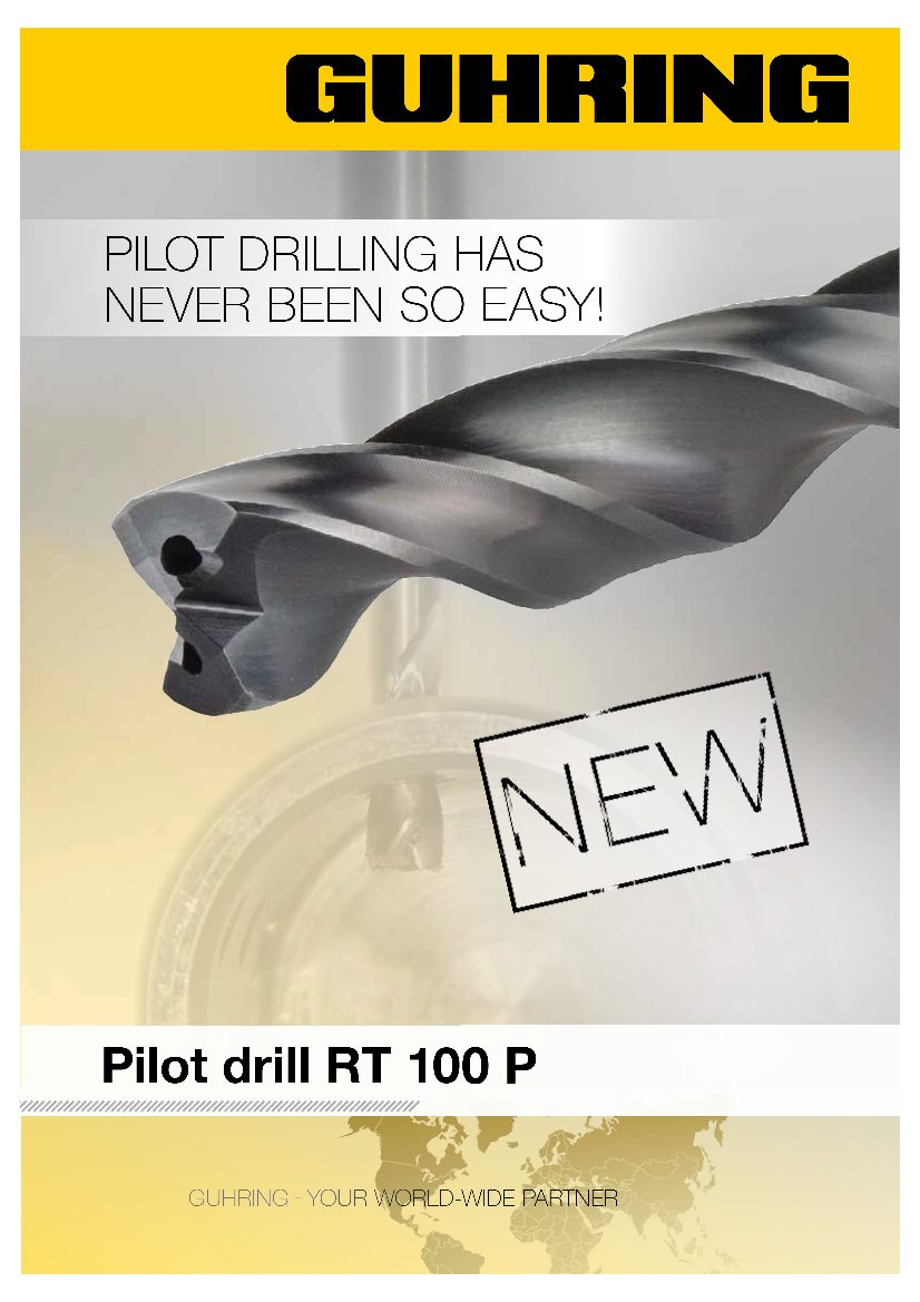 Pilot drill RT100 P