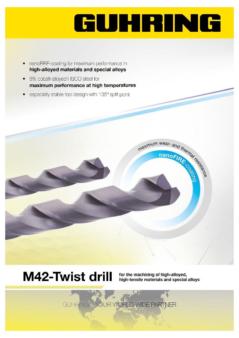 M42 Twist drill