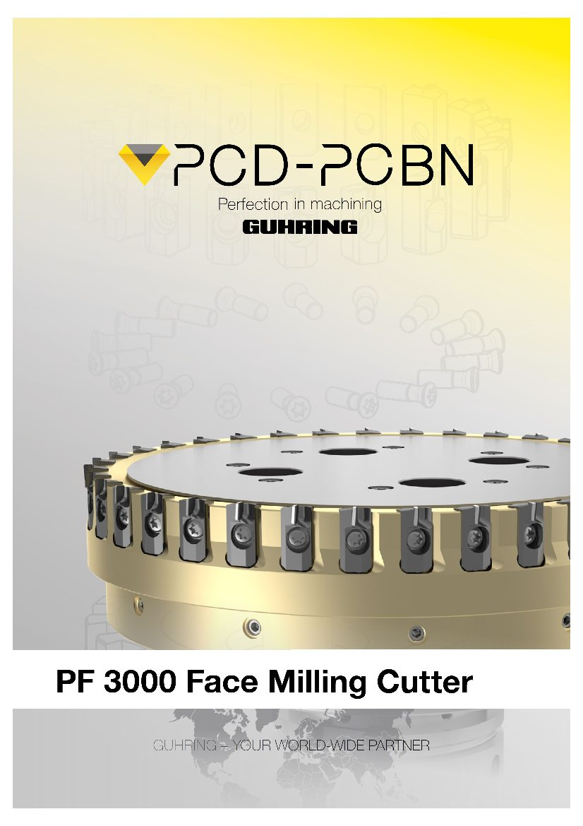 PF3000 Face milling cutter