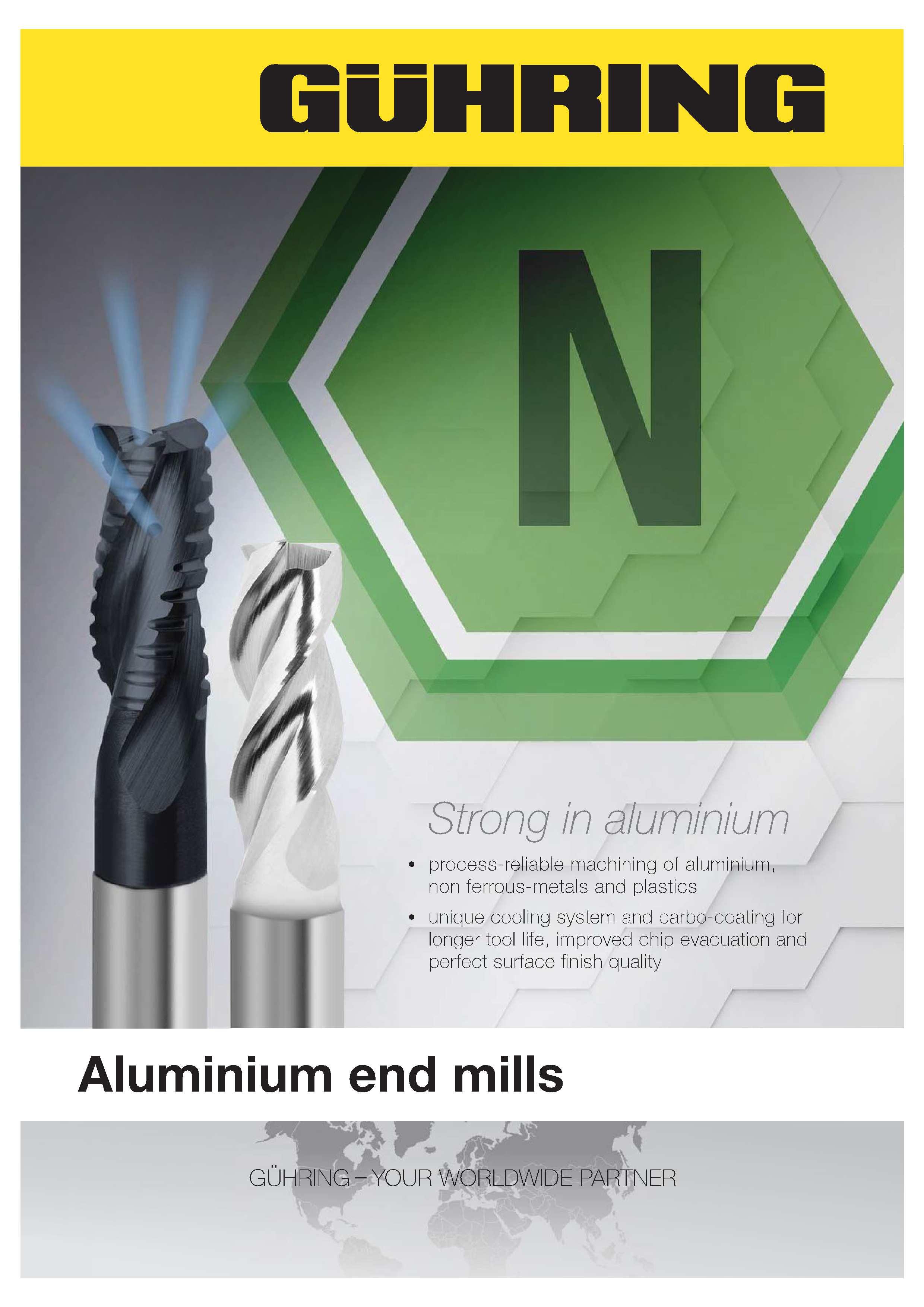 Aluminium Endmills